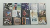 Country Music CD Lot of 15 Titles SEE DESCRIPTION FOR TITLES