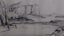 D Y Cameron, (1865-1945), Drypoint, Kerrara No. II