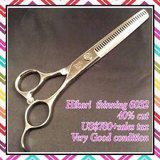 """""""Mint"""" Hikari high quality thinning scissors 6032 6.0"""" US$780+tax matsuzaki"""