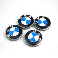 4X Hub Caps Wheel Centre Caps Car Rim Caps Badge Emblem Cover 68MM Fit BMW
