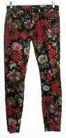 BDG Mid Rise Twig Floral Denim Jeans Size 26 X 29
