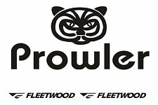 Fleetwood prowler RV sticker decal graphics trailer camper rv prowler