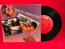 """BRUCE SPRINGSTEEN Tunnel Of Love 1987 Dutch 7"""" Vinyl Single EXCELLENT CONDITION"""