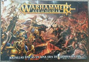 Warhammer age of sigmar mighty battles in an age of unending war  English