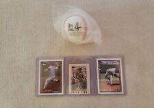 Nolan Ryan 5000th Strikeout 8-22-89 Commemorative Baseball & Lot of Cards