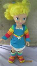 Rare 2009 Playmates Toys Hallmark Rainbow Brite Vinyl Vintage Yellow Tall Doll