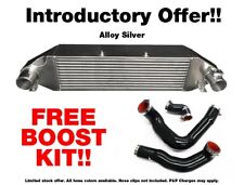 ROOSE Ford Focus RS MK3 Light Weight Extreme Silver Intercooler + FREE Boost Hos