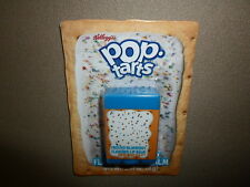 0.14 Oz. Kelloggs Frosted Blueberry Pop Tarts Flavored Lip Balm, NEW IN PACKAGE!