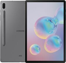 """Open-Box Excellent: Samsung - Galaxy Tab S6 - 10.5"""" - 256GB - Mountain Gray"""
