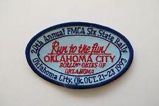 20th Animal FACA SIX STATE RALLY,OKLAHOMA CITY ,1993 RUN TO THE FUN PATCH
