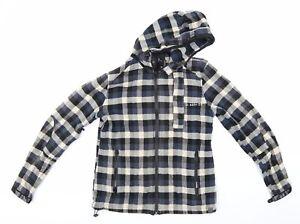 G Star Mens Blue Check  Jacket  Size L