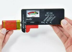 Universal Battery Tester Checker  AA, AAA, 9V, Button Cells 1.5V Analogue Test