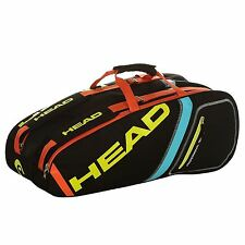HEAD Core Combi 6 Racket Tennis Bag Playing Training Rackets Accessories