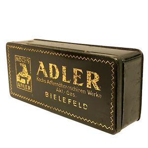 ADLER KOCHS Vintage Accessories Attachments Tin Box Bielefeld Germany
