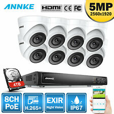 Annke 8Ch 4K 8Mp Nvr Ultra Hd 5Mp Poe Security Ip Camera System Motion Detection