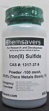 Ironii Sulfide Powder 100 Mesh 998 Trace Metals Basis 10g