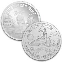 Donald J. Trump Space Force Maga 2020 2 oz .999 Fine Silver Coin