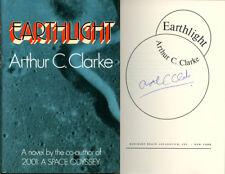 Arthur C Clarke SIGNED AUTOGRAPHED Earthlight HC 1st Edition RARE Mint Con 2001