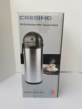 Cresimo 101 Oz 3l Airpot Thermal Coffee Carafe And Coffee Server Free Shipping