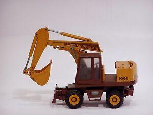 Case Poclain 888 Excavator - 1/50 - Conrad #2893 - N.Mint - No Box