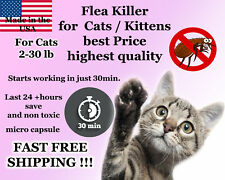 25 Capsules Instant Flea Killer Control Cats / Kittens 2-30lb prevention NEW