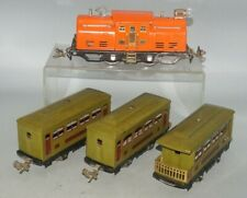 LIONEL PREWAR O-GAUG 252 LOCOMOTIVE WITH (2)529 PULLMAN & 630 OBSERVATION CARS