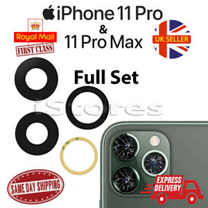 iPhone 11 Pro & 11 Pro Max Replacement Rear Back GLASS Camera Lens Cover part