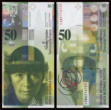 Suiza - Switzerland  50 Franken  2012   Pick 71e(1)  SC = UNC