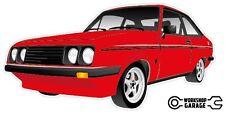 Ford Escort RS2000  MK 2 - 2Door - Red