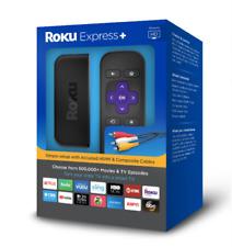 New Roku Express+ (6th Generation) Hd Media Streamer 3910Rw Vudu Edition - Black