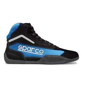 Sonderangebot - Sparco Gamma KB-4 Kart Schuhe - Kinder Größe 26 - Schwarz/Blau