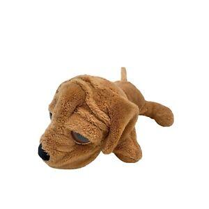 Russ Berrie Lil Peepers Shilah Shar Pei Dog Brown Big Eyes Plush Stuffed Toy 23