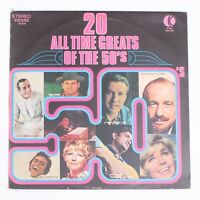 """20 All Time Greats Of the 50's - 12"""" Vinyl Record 33 RPM Compilation [NE490]"""