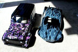 NEW VW BAJA BUG BODY FOR MOST 1/10 SCALE CRAWLER / AXIAL SCX10 / TRAXXAS TRX4