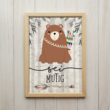 Deko-Bilder & -Drucke mit Bären fürs Kinderzimmer günstig kaufen | eBay