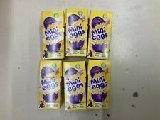 6 CARTONS OF CADBURY MINI EGGS 6 x 38.3G Easter Egg Hunt Kids
