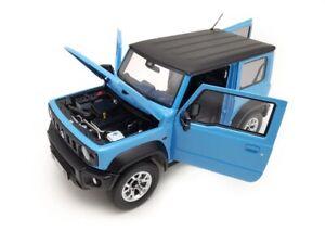 Suzuki Jimny Sierra Bleu 2018 1:18 Model LCD18004BL LCD Models