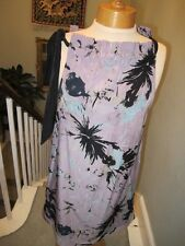 B.YOUNG SUNDRESS SIZE 10 LILAC/GREY WITH RIBBON STRAPS