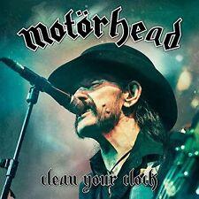 MOTORHEAD CLEAN YOUR CLOCK CD ALBUM (Released June 10th 2016)