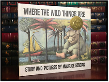 Where The Wild Things Are ✎SIGNED✎ by MAURICE SENDAK Mint Anniversary Hardback
