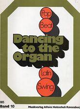 DANCING TO THE ORGAN- Rythmes de danses moderne sur orgue electronique- Band 10