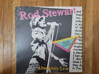 Rod Stewart Absolutely Live 1982 (2) EX Vinyl Lps VG Gatefold Record Cover