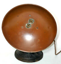 ART DECO  Electric Fan Heater  with Brass Reflector [PL2886]