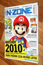 2010 Nintendo N-Zone Magazin Ghost Trick Zelda Spirit Tracks Resident Evil Zero