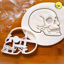 Human Skull Anatomy cookie cutter |macabre Archaeology biscuit skulls halloween