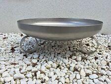 """Feuerschale / Klöpperboden """"circle"""" Ø 500 mm, Edelstahl 1.4571"""