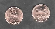 USA $ 1 Cent 2017 UNION SHIELD je 1x D und 1x P unzirkuliert und bankfrisch unc