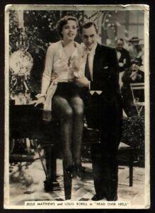 Tobacco Card,Ardath,FROM SCREEN & STAGE,1936,XL,Jessie Matthews,Louis Borell,#34