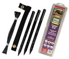 DEWITT G-RS15 Tree Stake Kit, Polypropylene, Black