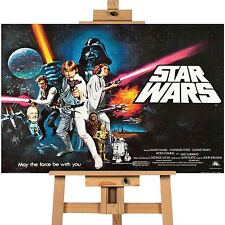 Star Wars 1 Movie Poster Canvas Print, Wall Print A1 Size